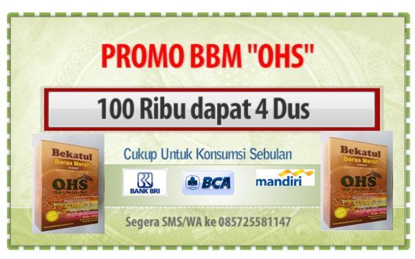 Promo BBM OHS